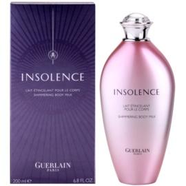 Guerlain Insolence tělové mléko pro ženy 200 ml
