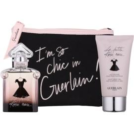 Guerlain La Petite Robe Noire подарунковий набір VІ  Парфумована вода 50 ml + Молочко для тіла 75 ml + Косметичка