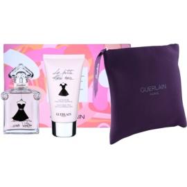 Guerlain La Petite Robe Noire подарунковий набір XIII.  Туалетна вода 50 ml + Молочко для тіла 75 ml + Косметичка