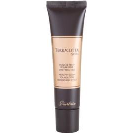 Guerlain Terracotta Skin make-up pro přirozený vzhled odstín 02 Brunettes  30 ml