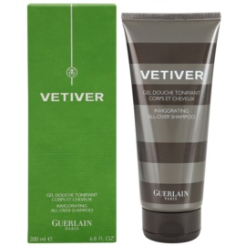 Guerlain Vetiver gel de dus pentru barbati 200 ml
