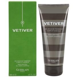 Guerlain Vetiver 2000 gel de duche para homens 200 ml