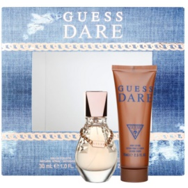 Guess Dare Gift Set IV. Eau De Toilette 30 ml + Body Milk 75 ml