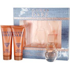Guess Dare Gift Set I. Eau De Toilette 30 ml + Body Lotion 75 ml + Shower Gel 75 ml