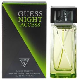 Guess Night Access Eau de Toilette für Herren 100 ml