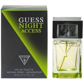 Guess Night Access Eau de Toilette für Herren 50 ml