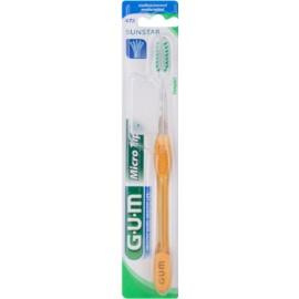 G.U.M Micro Tip Compact Zahnbürste Medium