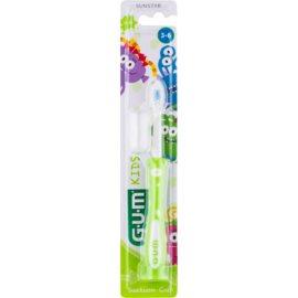 G.U.M Kids escova de dentes para criança com copo de sucção