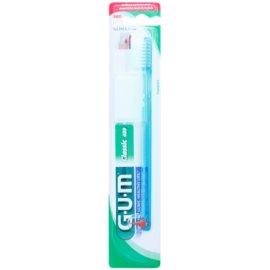 G.U.M Classic Compact zubná kefka s gumovým stimulátorom soft