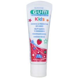 G.U.M Kids Tooth Gel for Kids With Strawberry Flavour  50 ml