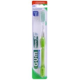 G.U.M Micro Tip Regular zubní kartáček soft