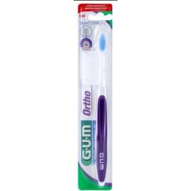 G.U.M Ortho 124 Zahnbürste für die Benutzer fester Klammern weich
