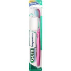 G.U.M Original White zubní kartáček medium Pink