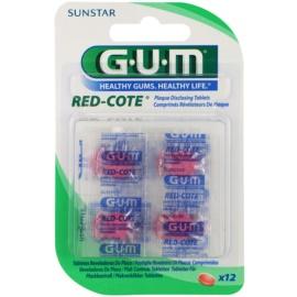G.U.M Red-Cote tablety na indikaci zubního plaku 824 12 Ks