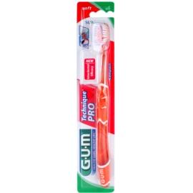 G.U.M Technique PRO Compact zubní kartáček s cestovní krytkou soft