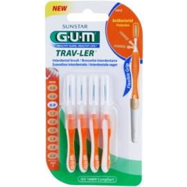 G.U.M Trav-Ler escovas interdentais 4 pcs 0,9 mm