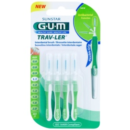 G.U.M Trav-Ler escovas interdentais 4 pcs 1,1 mm