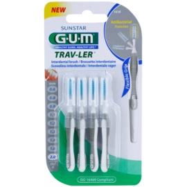 G.U.M Trav-Ler escovas interdentais 4 pcs 2,0 mm