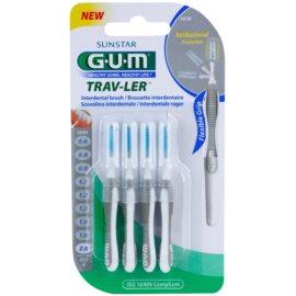 G.U.M Trav-Ler szczoteczki międzyzębowe 4 szt. 2,0 mm