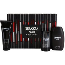 Guy Laroche Drakkar Noir Geschenkset V. Eau de Toilette 100 ml + Deo-Stick 75 g + After Shave Balsam 100 ml