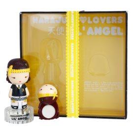 Gwen Stefani Harajuku Lovers Lil Angel zestaw upominkowy I.  woda toaletowa 30 ml + perfumy w kompakcie 1,2 g