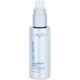 H2O Plus Sea Results ser protector cu efect antirid  30  x 10 ml