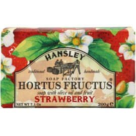 Hansley Strawberry tuhé mýdlo  200 g