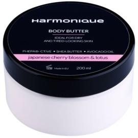 Harmonique Japanese Cherry & Lotos maslo za telo za suho kožo brez vitalnosti  200 ml