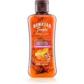 Hawaiian Tropic Protective suchý olej na opaľovanie SPF 15  100 ml