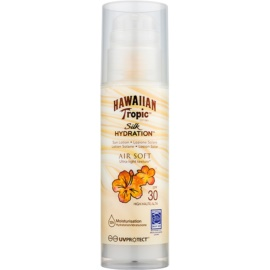 Hawaiian Tropic Silk Hydration Air Soft loción bronceadora SPF 30  150 ml
