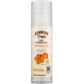 Hawaiian Tropic Silk Hydration Air Soft opaľovacie mlieko SPF 50  150 ml