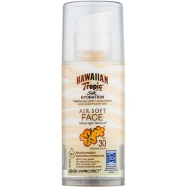 Hawaiian Tropic Silk Hydration Air Soft schützende Gesichtscreme SPF 30  50 ml