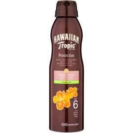 Hawaiian Tropic Protective Waterproef Beschermende Droge Olie voor Bruinen  SPF 6  177 ml
