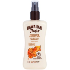 Hawaiian Tropic Protective wasserfeste Sonnenmilch SPF 20  200 ml