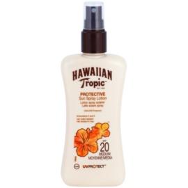 Hawaiian Tropic Protective vodoodporno mleko za sončenje SPF 20  200 ml