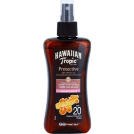 Hawaiian Tropic Protective Waterproof Sun Protection Dry Oil SPF 20  200 ml