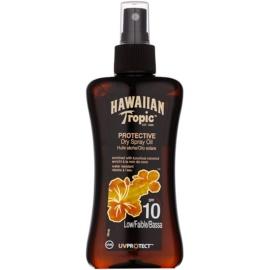 Hawaiian Tropic Protective vízálló védő és száraz napozó olaj SPF 10  200 ml