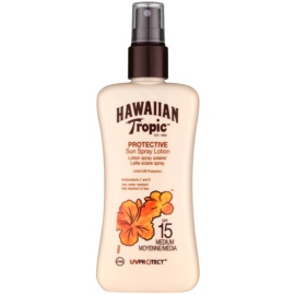 Hawaiian Tropic Protective Waterproef Zonnebrandmelk  SPF 15  200 ml