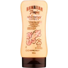 Hawaiian Tropic Shimmer Effect mleczko do opalania SPF 25  180 ml