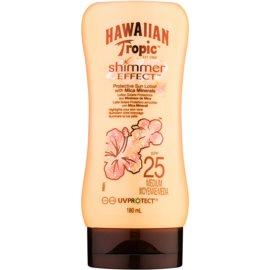 Hawaiian Tropic Shimmer Effect loción bronceadora SPF 25  180 ml