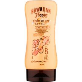 Hawaiian Tropic Shimmer Effect napozótej SPF 8  180 ml