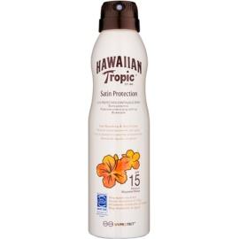 Hawaiian Tropic Satin Protection sprej na opaľovanie SPF 15  220 ml