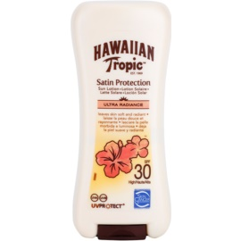 Hawaiian Tropic Satin Protection leche solar resistente al agua SPF 30  200 ml