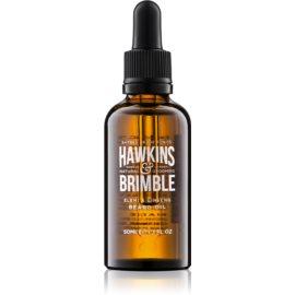 Hawkins & Brimble Natural Grooming Elemi & Ginseng huile nourrissante barbe et moustache  50 ml