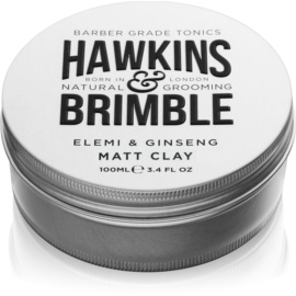 Hawkins & Brimble Natural Grooming Elemi & Ginseng matująca pomada do włosów  100 ml