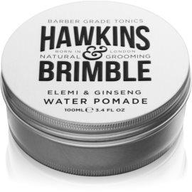 Hawkins & Brimble Natural Grooming Elemi & Ginseng pomata per capelli a base di acqua  100 ml