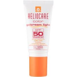 Heliocare Color gel-cremă cu efect de tonifiere SPF50 culoare Light  50 ml
