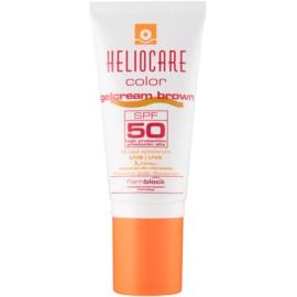 Heliocare Color gel-cremă cu efect de tonifiere SPF50 culoare Brown  50 ml