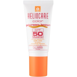Heliocare Color crema gel con color SPF50 tono Brown  50 ml