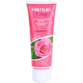 Herbal Time Bulgarian Rose šampon s regeneračním účinkem  250 ml